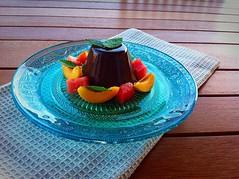 Bavarese (deniseippolito83) Tags: bavarese cioccolato frutta chocolate dessert sweet dolce fruits mint menta delicious delicia lecker