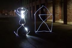 Lightpainting (meine.augenblicke) Tags: dortmund nacht deutschland night lightpainting effekt licht light 2014 fotokurs kursmycamera kameranikond5200 kamera mrz march