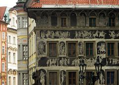Tutti i colori dei palazzi #3 (BribbroPhoto) Tags: color building architecture painting praha praga czechrepublic palazzo colori architettura pittura repubblicaceca canonpowershots3is