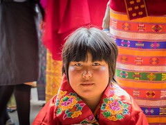 fabrics of bhutan... (alison ryde - back in town for now) Tags: travel people holiday festival march clothing asia bhutan buddhist buddhism east kira punaka february himalaya traditionalcostume tego phototrip 2015 rachus wonju tribalcostume kingdomofbhutan himalayankingdoms bhutanesepeople alisonryde olympusem1