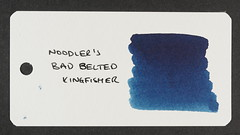 Noodler's Bad Belted Kingfisher - Word Card