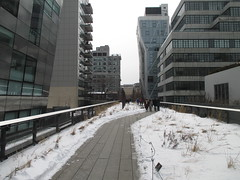 High Line Snow Covered Railroad Overpass Tracks to Nowhere 8329 (Brechtbug) Tags: road park street new york city nyc railroad winter urban snow streets west art architecture garden way design march high downtown gallery path walk manhattan district balcony packing side nowhere tracks overpass rail pedestrian mini el meat line midtown covered mezzanine transportation boardwalk former elevated blizzard derelict reclamation highline skyway redesign the remodeled 2015 03072015