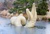 CW134 Water Sculpture (listentoreason) Tags: sculpture usa art ice water museum america canon newjersey unitedstates scenic favorites places mercercounty groundsforsculpture ef28135mmf3556isusm score30