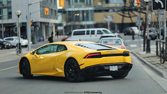 Banana (STOKFotoworks) Tags: car yellow speed 85mm fast huracan banana f18 awd 6d lambo carporn carswithoutlimits