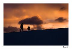IMG_4598-Edit-Edit-2 (zaom80) Tags: sunset sky sled sledge manandchild canon70200f4 eos450d