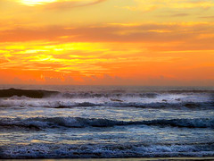 Wild With Color (henryhintermeister) Tags: sunrise australia queensland beaches burleighbeach