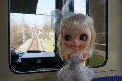 Downhill with Rack railway (omgdolls) Tags: railway val rack blythe blythedoll