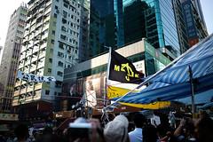Umbrella Revolution #828 () Tags: road street leica ltm city people publicspace umbrella hongkong freedom democracy movement day path candid voigtlander 28mm protest rangefinder stranger demonstration revolution kowloon mongkok socialevent m9 l39 nofinder f19 m39 occupy offfinder umbrellarevolution voigtlander28mmf19 leicam9 occupycentral    umbreallarevolution