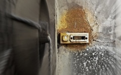 Doorbell (Vassilis Online) Tags: abandoned bell empty abandonedhouse doorbell abandonedbuilding abandonedplaces
