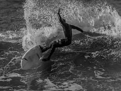 Salty Balance (cetch1) Tags: beach water surf surfer surfing surfboard rodeobeach bigwave waveporn northerncaliforniasurfing