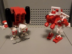 Rat Tails! (Red_Robot_XIII) Tags: game mobile robot lego racing frame zero mecha mech microscale mfz mf0