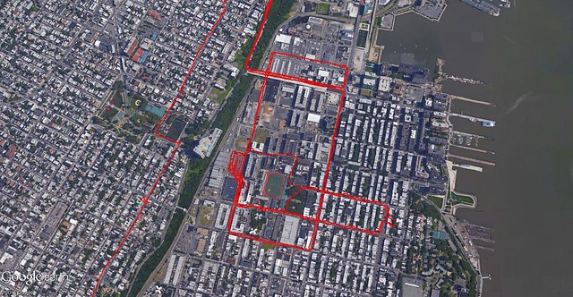 March 2015 My Tracks (Hoboken)