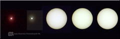 '150317 zonnefoto's  2e serie (creating more portraits...) Tags: nightshot jupiter nachtfotografie sunshot weldingglass jupiterandmoons lasglas zonnefoto fotovandezon manenvanjupiter