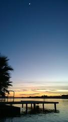 The Waxing Crescent Moon, as seen from the Buckskin Sheriff's Landing (Ms. Jen) Tags: arizona moon zeiss nokia twilight dusk coloradoriver parker buckskin crescentmoon theriver waxingmoon lumia lumia1020 nokialumia1020