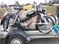PUCH MV50 (John Steam) Tags: austria motorbike motorcycle oldtimer moped omg oberösterreich puch attersee mofa nussdorf mv50 zweitakt teilemarkt nusdorf