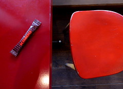 Rouge Kimbo - Kimbo Red, Blaise et Basile, Paris (blafond) Tags: red paris france caf table rouge chair sugar reds iledefrance chaise sucre kimbo rouges blaiseetbasile