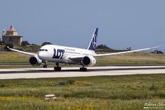 LOT Polish Airlines --- Boeing 787-8 Dreamliner --- SP-LRE (Drinu C) Tags: plane aircraft aviation sony boeing dsc mla 787 lotpolishairlines dreamliner lmml hx100v adrianciliaphotography splre
