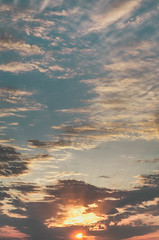 Burning Higher (Vertical) (Adam_Marshall) Tags: light sunset sky sun nature clouds canon landscape eos sigma rays f28 70d 1750mm