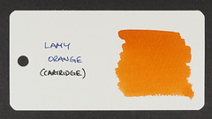 Lamy Orange - Word Card