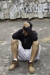 Manuel riendo (odyaleon) Tags: boy portrait people color guy smile vertical happy rocks grafitti gente laugh risas