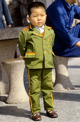 Beijing Chinese General (gerardeder) Tags: world china travel portrait asia east reise
