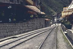 Railway at Macchu Picchu (Imthearsonist) Tags: road tourism peru town camino pueblo culture railway macchupicchu destinations canoncamera viasdeltren canont3i