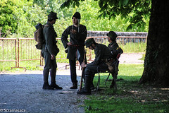 IMG_7326 (scramasacs) Tags: soldier gradisca iww historicalreenactment istorica
