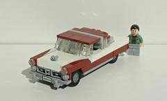 1955 Ford Crown Victoria (LegoEng) Tags: ford 1955 car america lego american 1950s legoeng