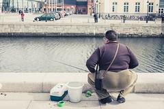 DSCF9785 (roythaniago) Tags: street urban river fishing sweden streetphotography malmo socialdocumentary urbanlife