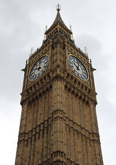 London (scrappy nw) Tags: uk england london clock river capital gothic victorian bigben clocktower riverthames elizabethtower ststevenstower