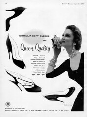 Queen Quality Shoes (jerkingchicken) Tags: vintagefashion vintageshoes