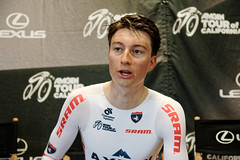 Amgen Tour of California, Stage 6 (axeoncycling) Tags: california people sports bicycle race speed outside outdoors cycling team cyclist action fast lifestyle bikes tt athletes athlete toc stage6 timetrials amgentourofcalifornia daveywilson axeonhagensbermancyclingteam