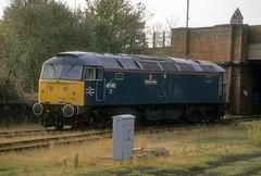 British Rail - 47145 (dgh2222) Tags: light yard br 4 engine brush goods type selby 47145