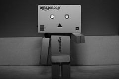 Hey you! Stop right there! (iamWing_) Tags: acros bw danbo danboard fuji fujifilm metz monochrome revoltech xpro2 xf35 amazon