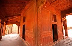 Fatehpur Sikri Palace 148 (David OMalley) Tags: india muslim islam agra palace mosque pilgrimage akbar masjid allah islamic pradesh fatehpur sikri muhammed uttar jama darwaza buland sikari vijaypur