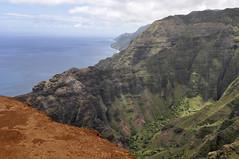 Nualolo Trail,  Na Pali Coast, Ke'e Beach (lihue1946) Tags: hawaii kauai kee keebeach kokee nualolo awaawapuhi kokestatepark