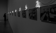 Perspective (alessandra.butti) Tags: madrid bw white man black art museum modern reina spain nikon arte sofia contemporary perspective indoor bn museo 1855 spagna prospettiva artepovera d3200