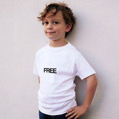 free t-shirt (rethinkthingsltd) Tags: baby white smart children design kid diverse adult unique free tshirt parry pride southern lgbt statement strong local northern fit typographic able ilsa rethinkthings