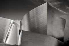 Walt's Concert Hall (Dan_jOnEs18) Tags: california street sky blackandwhite usa architecture la blackwhite nikon streetphotography whiteandblack nikonphotography nikond7000