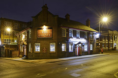 The County, Gypsy Lane, Willenhall 26/02/2016 (Gary S. Crutchley) Tags: street uk travel england urban house black west heritage history public beer bar night dark ed evening town pub inn nikon long exposure raw slow nightscape shot nightshot image time britain united country great ale kingdom s tavern shutter after local nightphoto af nikkor townscape staffordshire westmidlands walsall midlands d800 blackcountry staffs 1635mm nightimage hostelry nightphotograph willenhall f40g walsallweb walsallflickr