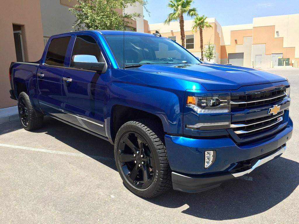 Blue Chevy Silverado >> 2016 Chevy Silverado 1500 Z71 Deep Ocean Blue Metallic