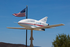 Private (EAA Chapter 1279) Bede BD-5J N1279 (jbp274) Tags: airport flag airplanes preserved flagpole eaa f70 bede frenchvalley bd5