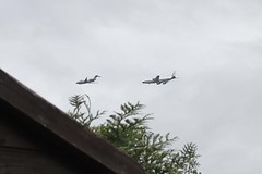 Part of the Fly By for the Queens 90th Birthday Party Flew across the field behind my house! (isisjem22) Tags: birthday 90th queen raf flyby