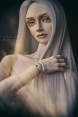 Alexei (Lydia Tausi Photography) Tags: people canon vintage dark naked switch 50mm doll longhair blonde bjd abjd androgynous balljointeddoll sd17 eos500d lydiatausi popodoll taeheo