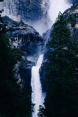 Yosemite (boldlyatomicwerewolf) Tags: california trees usa fog river waterfall yosemite fujixt1 xf90mm