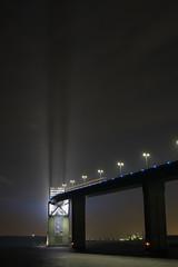 DSC04482 (Zengame) Tags: bridge japan architecture night zeiss tokyo sony illumination landmark illuminated cc jp creativecommons    distagon     wakasu   a6300  tokyogatebridge   distagontfe35mmf14za fe35mmf14 6300 distagonfe35mmf14