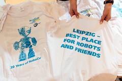 Robcup 2016 // Check-in at Leipzig Trade Fair (robocup2016) Tags: leipzig sachsen deutschland deu robocup robocup2016