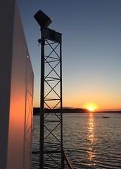Sunset (heidi_wlx) Tags: ocean sunset sun landscape maine newengland seashore barharbor iphone6