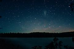 cuidados (www.facebook.com/amagalhaesfotografia) Tags: cu noite estrelas paz serenidade natureza azul pontos textura canon pilar do sul so paulo