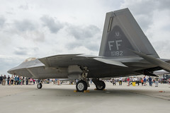 Lockheed Martin F-22 Raptor at Joint Base MLD (Airshow and Open house) (TSP Tactical) Tags: newjersey military nj airshow openhouse afb 2016 usmilitary fortdix jointbasemcguiredixlakehurst powerinthepines